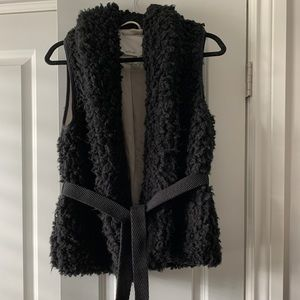 Wilfred Black Courcelle Vest